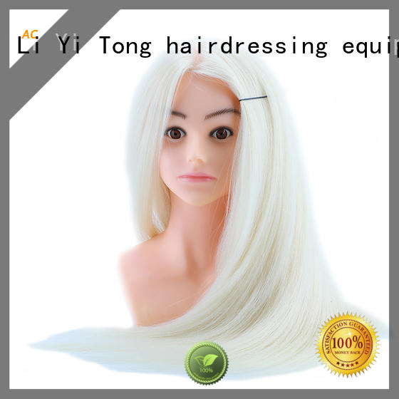 Li Yi Tong makeup hair stylist practice heads customization for training