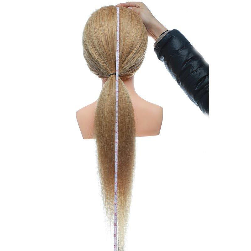 Mannequin stand  mannequin bust 100 human hair hairdressing mannequin training head USA