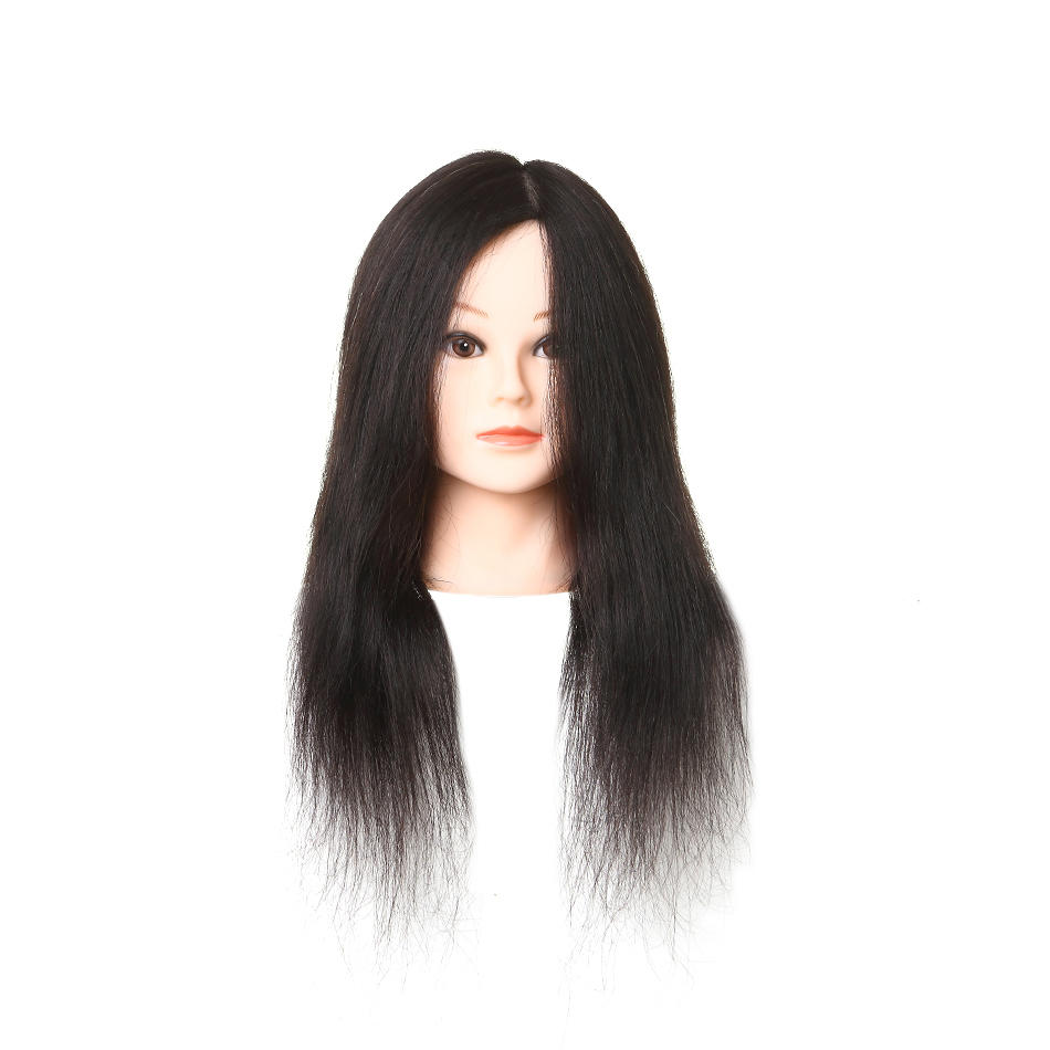Hair mannequin head suppliers hairdressing curly human hair wigs manikin head AAAA