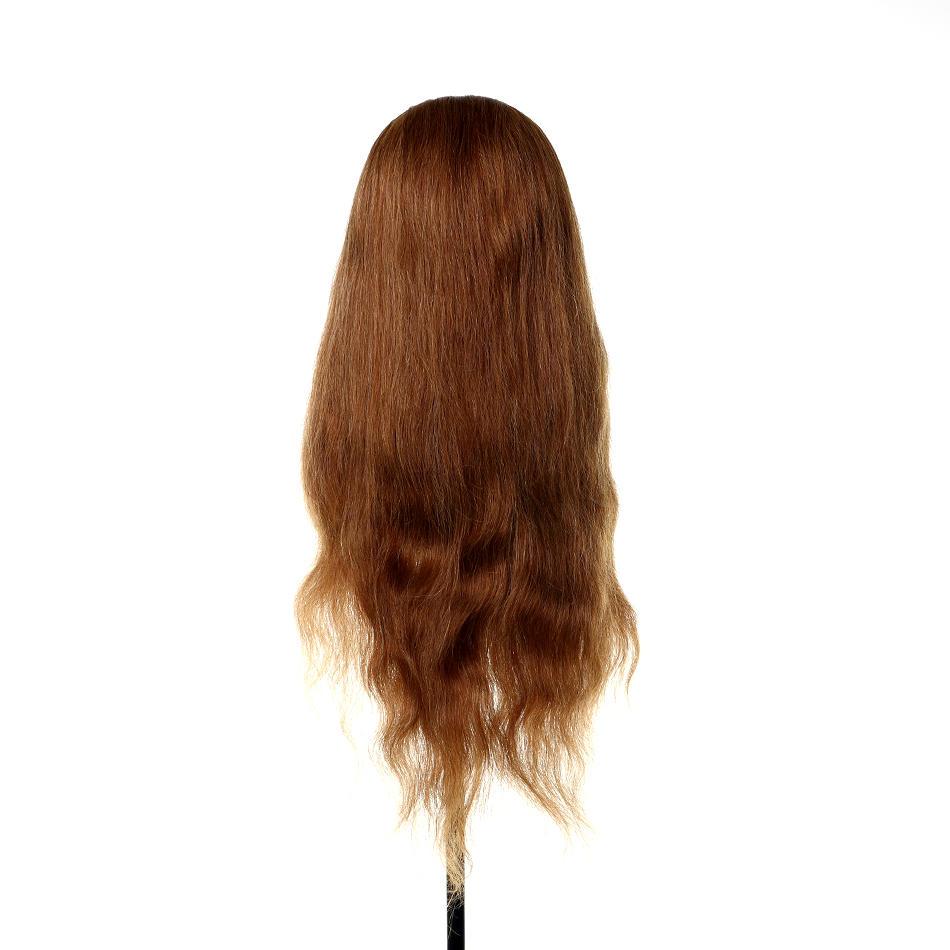 Cosmetology mannequin head 100 human hair best human hair weave practice mannequin head AAAAA