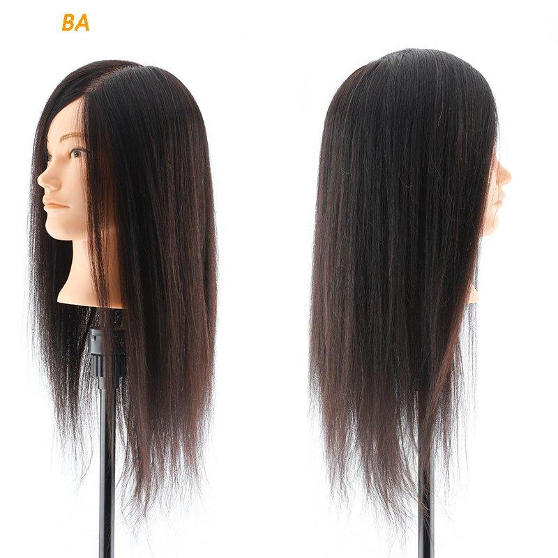 Mannequin head with african american hair human hair mannequin head wholesale  BA