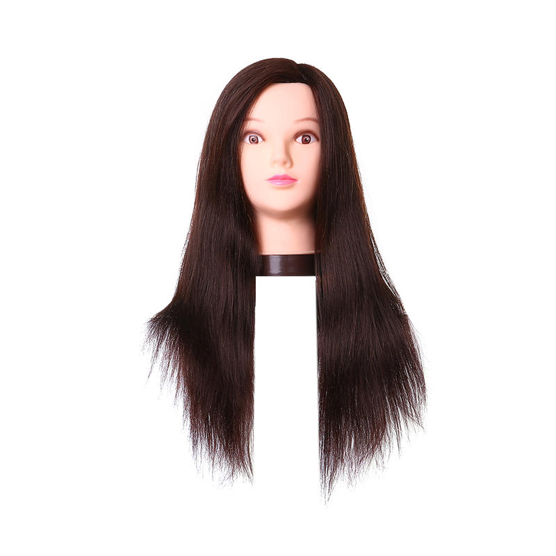 Human hair blend wigs realistic mannequin head- TTT
