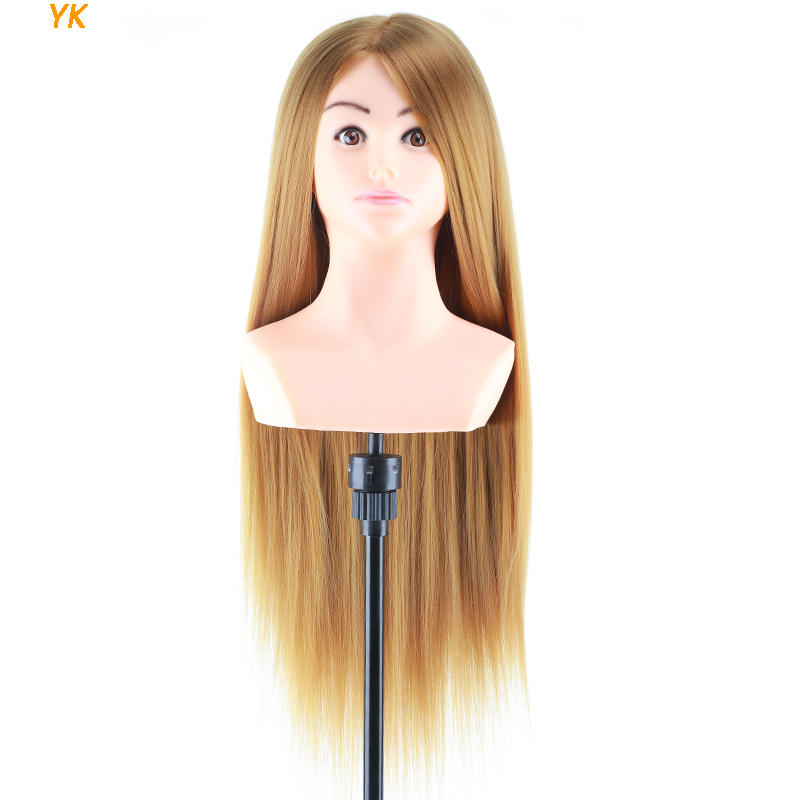 Realistic mannequin head mannequin bust cosmetology doll head-YK