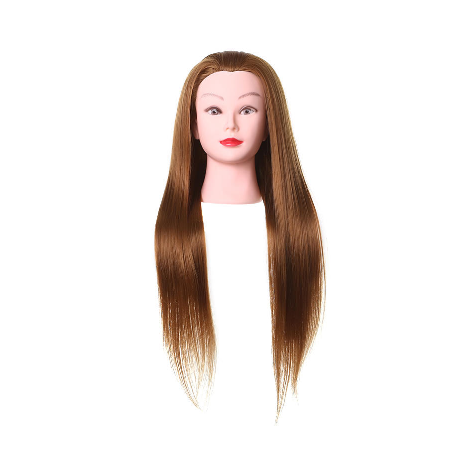 Synthetic Fiber hair mannequin doll head- 27