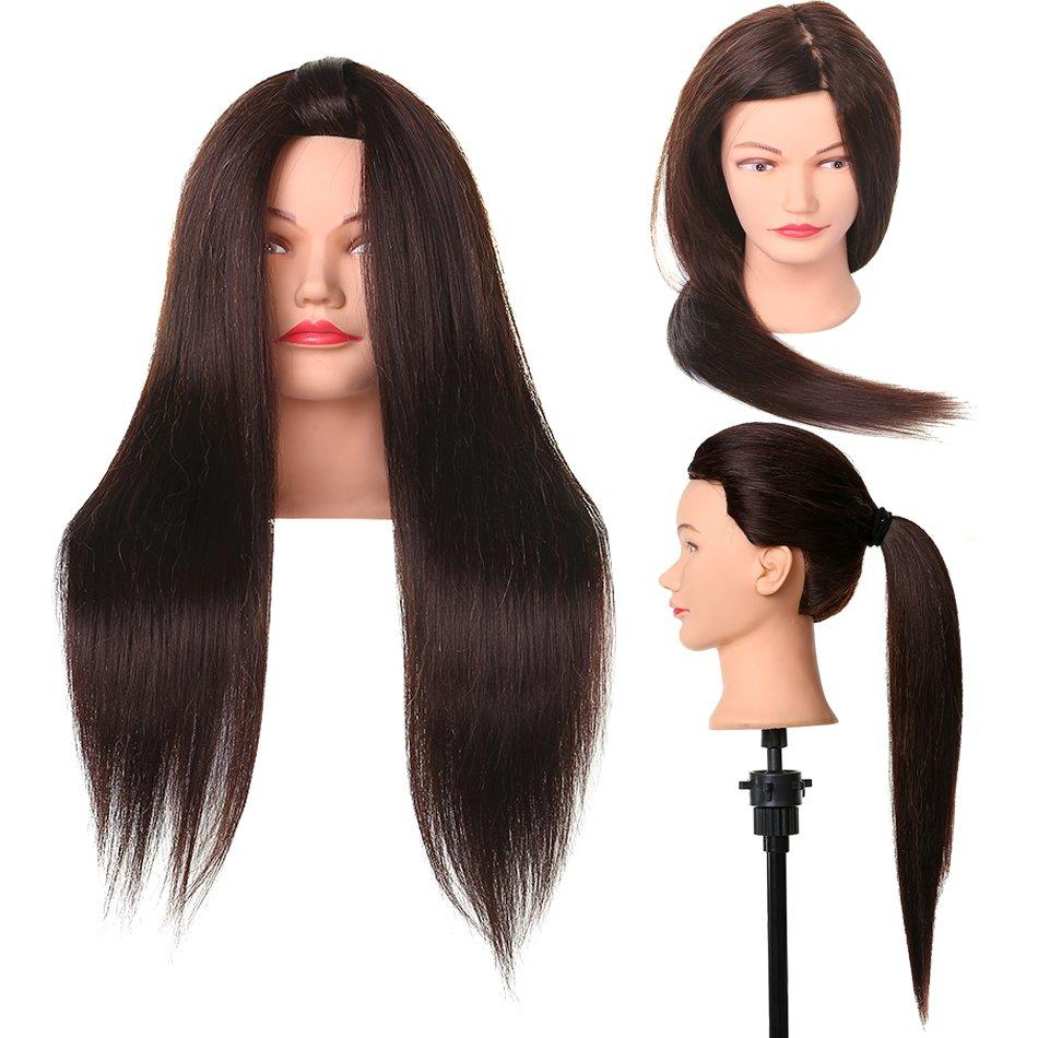 Hairdressing courses mannequin head practice hair-  BD