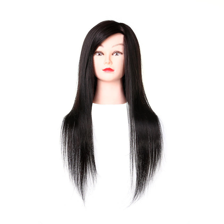 Hairdressing dummy head  practice doll head- FT