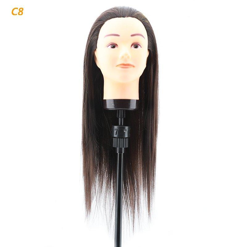 Hair mannequin head supplier practice makeup doll heads-c8