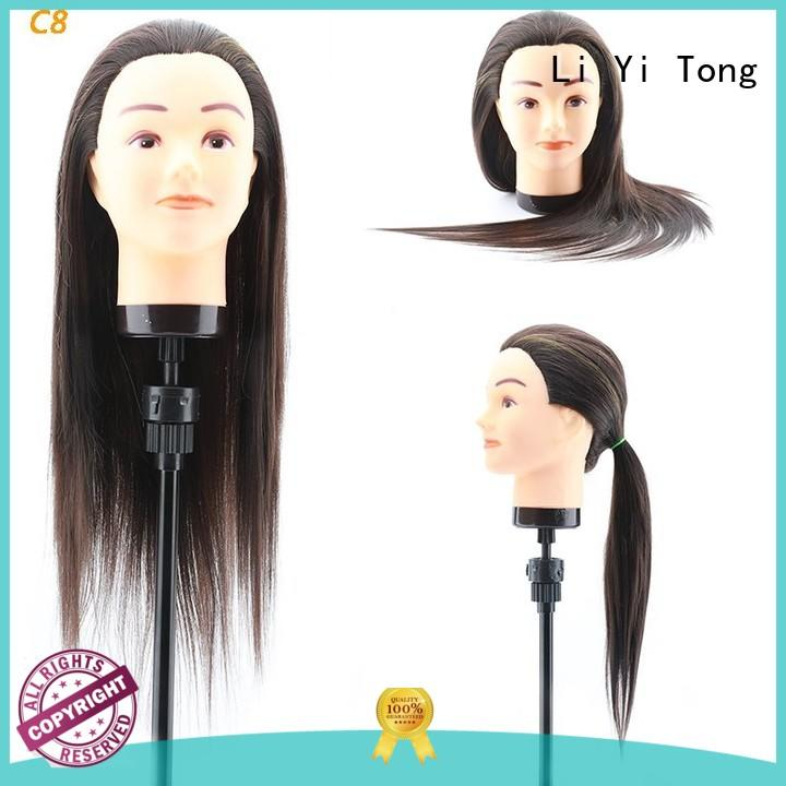 resistant practice hair mannequin beauty for training Li Yi Tong