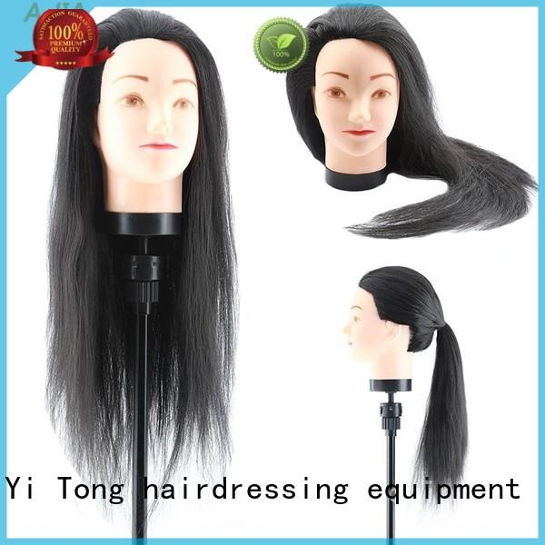 Li Yi Tong Breathable human hair mannequin head wholesale cosmetology for womens