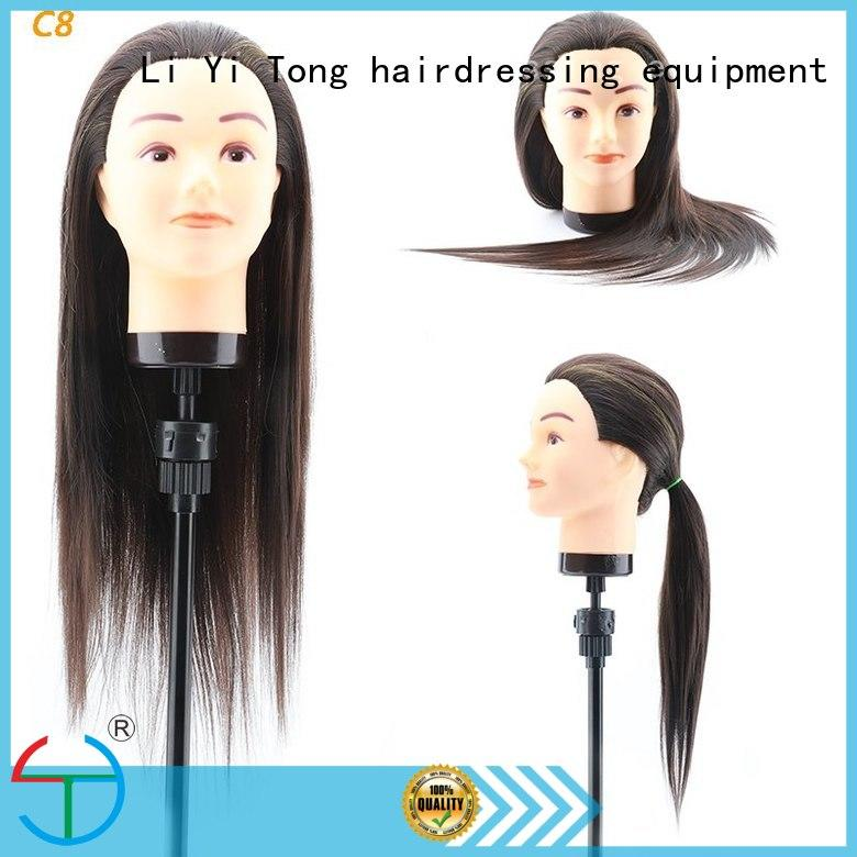 kids hair styling mannequin heads for wholesale for training Li Yi Tong