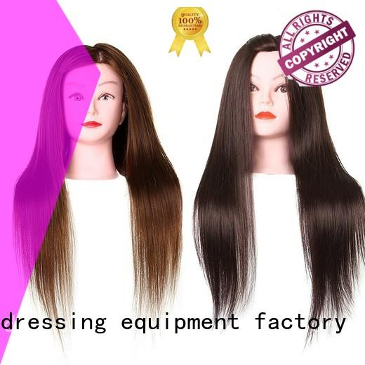 portable practice hair mannequin customization for training