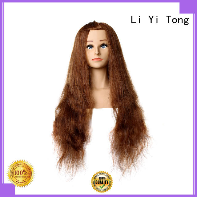 on-sale long human hair mannequin head supplier for barberhead