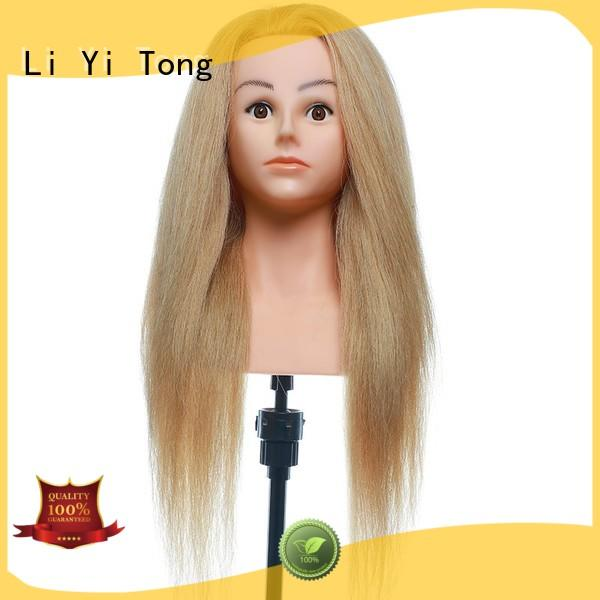 Li Yi Tong training hairdressing practice head for sale for beauty