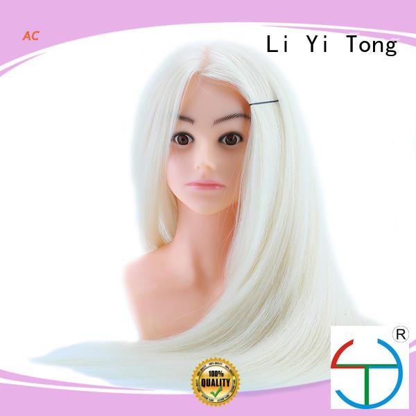 Li Yi Tong Brand head 5a ac practice hair mannequin