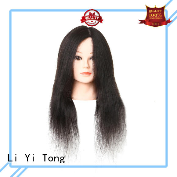 Li Yi Tong high-quality hair mannequin tripod stand for sale for girls