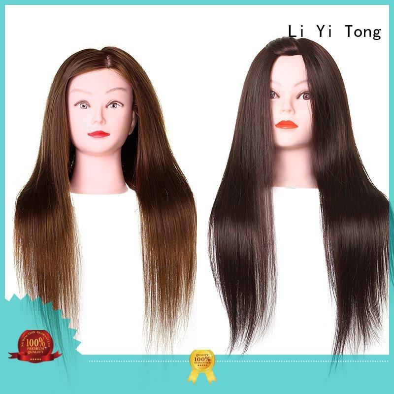 Li Yi Tong xft doll heads for hairstyling bulk production for girls