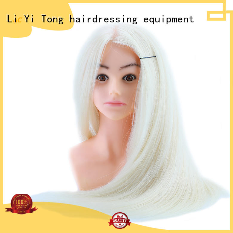 durable cheap cosmetology mannequin head 100 human hair buy now