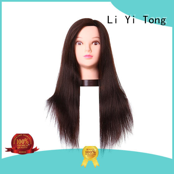 high-quality human hair mannequins for sale free sample for long hair Li Yi Tong