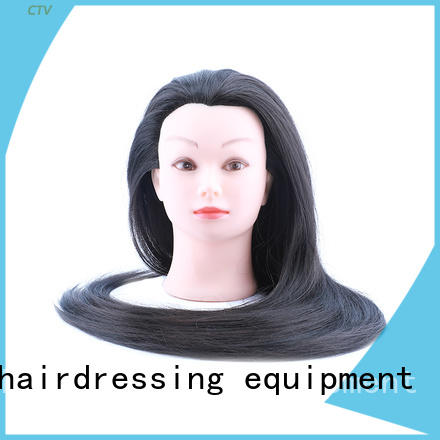 Li Yi Tong durable cosmetology mannequin head real human hair sale human for womens