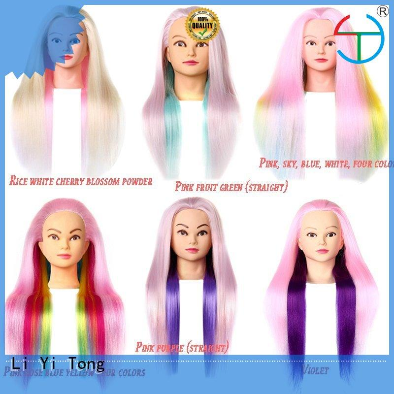 wholesale mannequin head with natural hair mannequin factory for girls