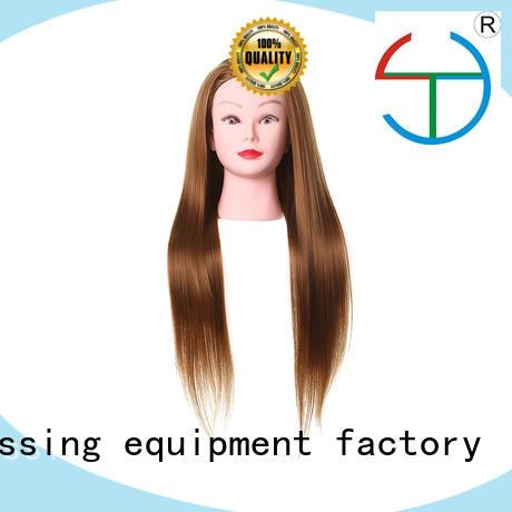 red ft manikin heads for hairdressing yakesi Li Yi Tong