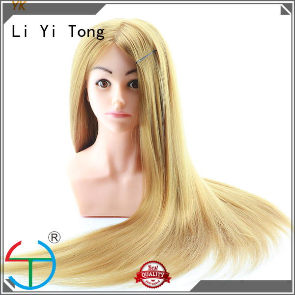 wholesale mannequin heads with hair hairdressing for womens Li Yi Tong