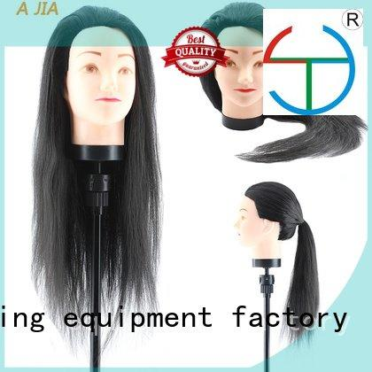 long hair mannequin heads sale temperature pin OEM suppliers cosmetology mannequin heads Li Yi Tong