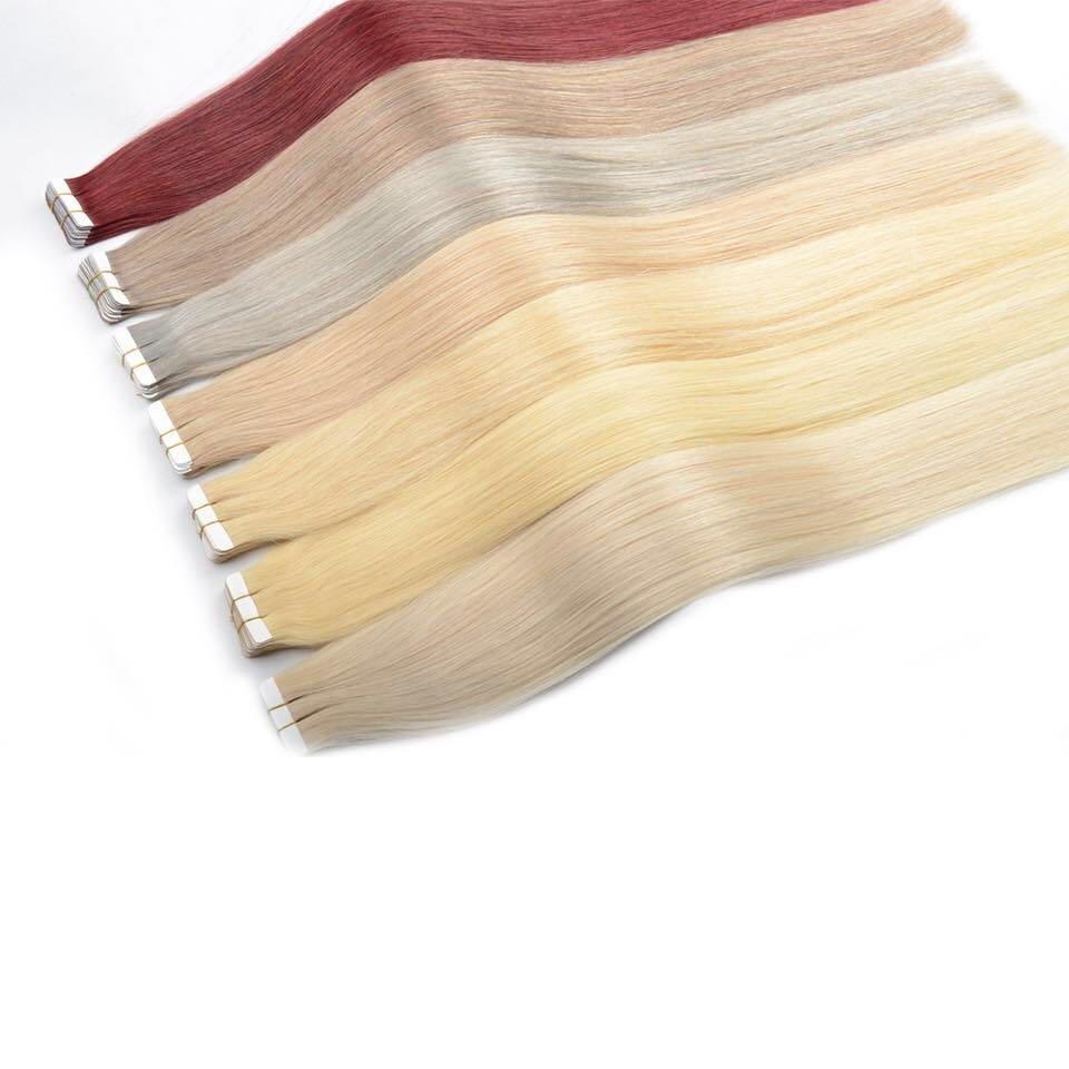 Hairdressing glue glue human hair Colorful human hair style hair extension