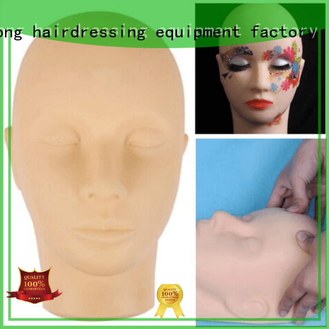 Li Yi Tong plant hairdressing mannequin head stand manufacturing site for practice