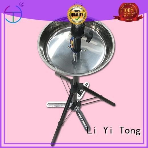 pedal long hair mannequin head human hair beauty for beginnger Li Yi Tong