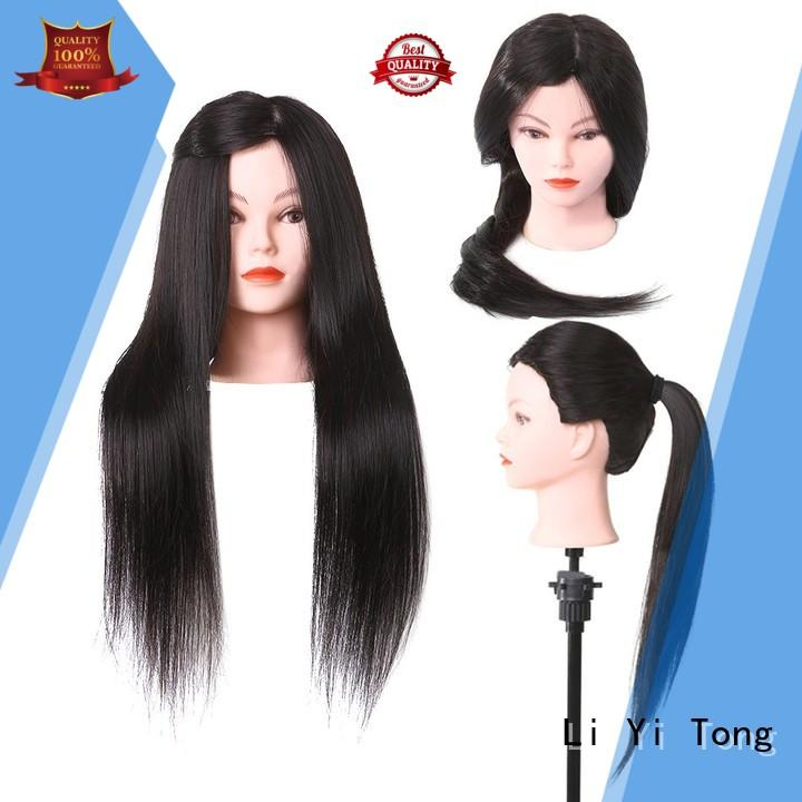 Li Yi Tong portable practice hair mannequin head OEM for womens