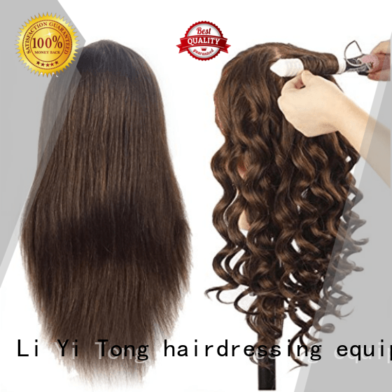 Li Yi Tong human cosmetology mannequin head human hair sale get quote for training